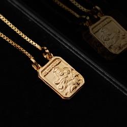 Escapulário ZYE Detail Dourado