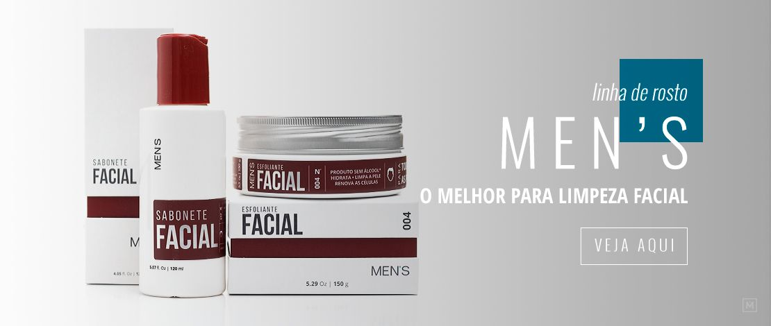 Limpeza Facial Men's