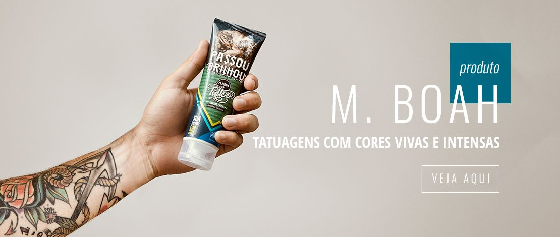 Tattoo Color Care - Brilho imediato e cores vivas