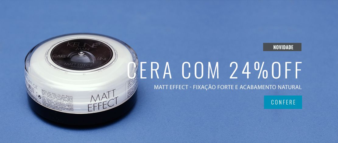 Cera Keune Matt Effect 30ml com 24%OFF