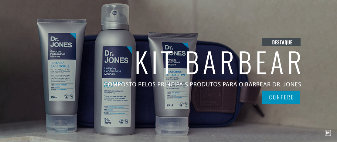 Kit para Barbear Dr. Jones