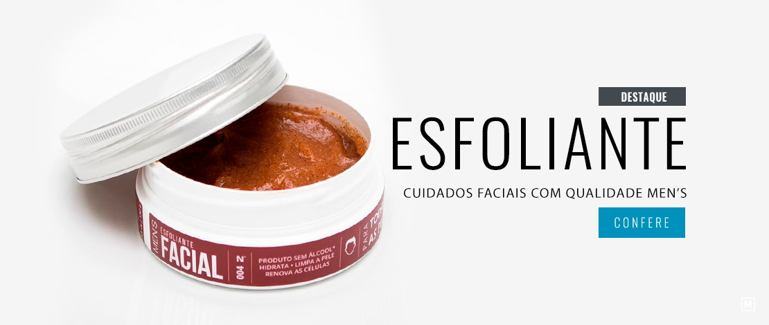 Esfoliante Facial Men's