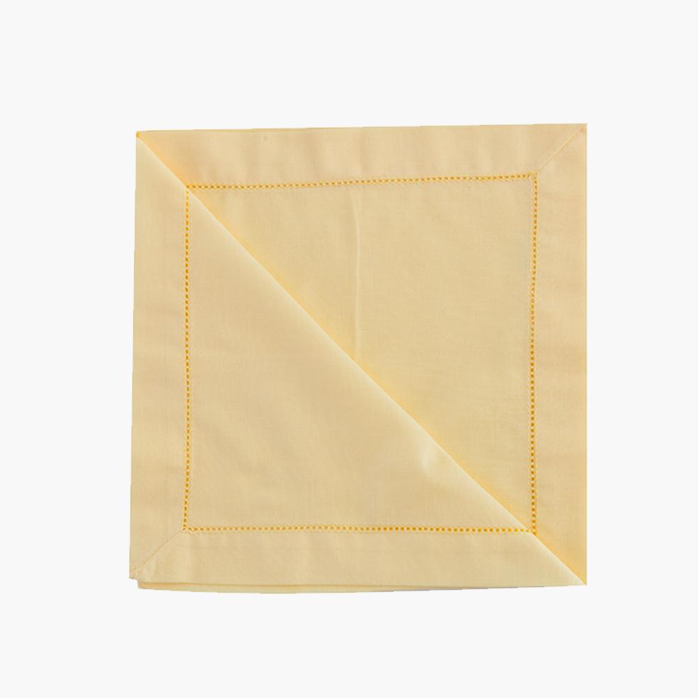 Guardanapo Tricoline Amarelo